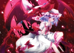 Remilia Scarlet (outside the Mansion)